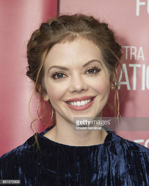 Actress Dreama Walker attends SAGAFTRA Foundation's Conversations with 'Doubt' at SAGAFTRA Foundation Screening Room on January 9 2017 in Los Angeles...