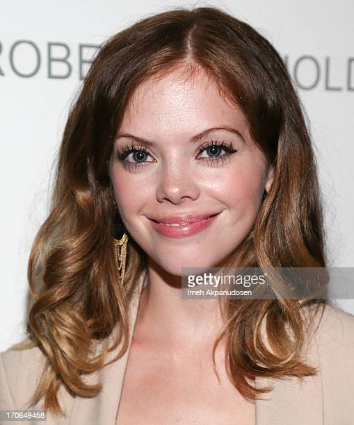 Actress Dreama Walker attends the 'Casting By' Los Angeles Film Festival AfterParty at Robert Reynolds Gallery on June 15 2013 in Los Angeles...