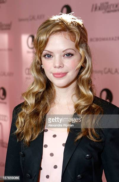 Actress Dreama Walker attends The Hollywood Reporter's 'Power 100 Women In Entertainment' Breakfast at the Beverly Hills Hotel on December 5 2012 in...
