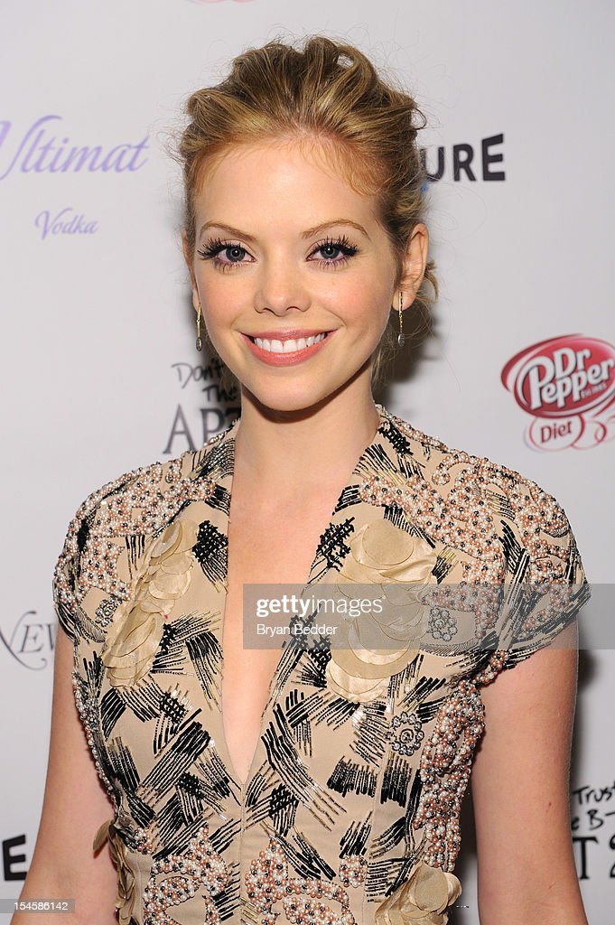 Actress Dreama Walker attends the premiere party for 'Don't Trust The B---- In Apt 23' hosted by New York Magazine and Vulture at Toro Lounge at Plein Sud on October 22, 2012 in New York City.