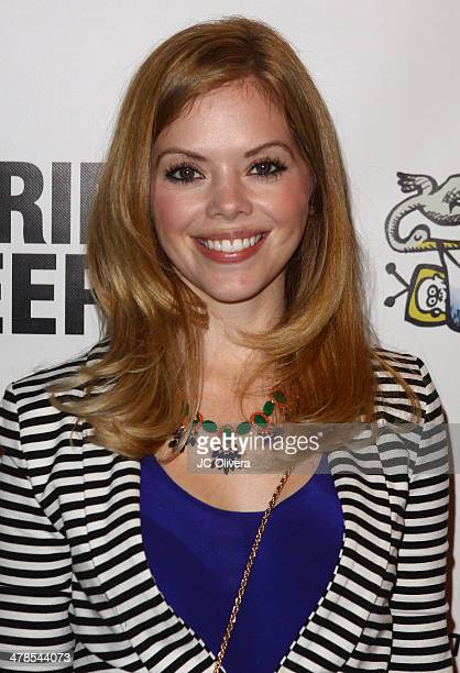 Actress Dreama Walker attends the premiere screening and cocktail reception of the Lifetime original movie 'The Grim Sleeper' at American Film...