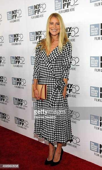 Actress Dree Hemingway attends 'Listen Up Phillip' during the 52nd New York Film Festival at Alice Tully Hall on October 9 2014 in New York City