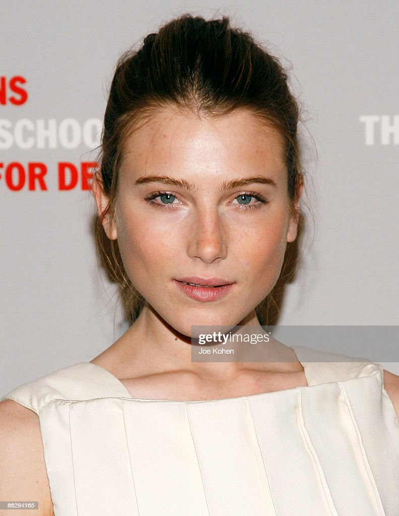 Actress Dree Hemingway attends the 2009 Parsons Fashion benefit at Cipriani Wall Street on April 29 2009 in New York City