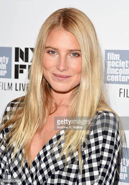 Actress Dree Hemingway attends the 'Listen Up Phillip' premiere during the 52nd New York Film Festival at Alice Tully Hall on October 9 2014 in New...