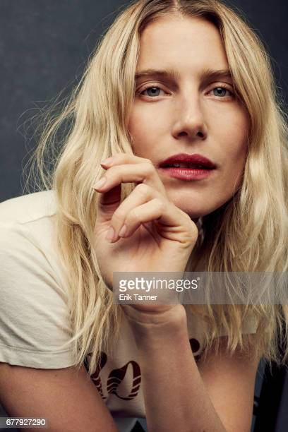 Actress Dree Hemingway from 'Love After Love' poses at the 2017 Tribeca Film Festival portrait studio on on April 22 2017 in New York City