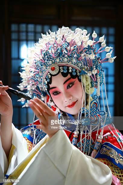 Actress Dressing As Beijing Opera Characters,China