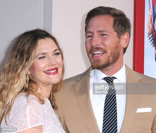 Actress Drew Barrymore and husband Will Kopelman arrive at the Los Angeles Premiere 'Blended' on May 21 2014 at TCL Chinese Theatre in Hollywood...