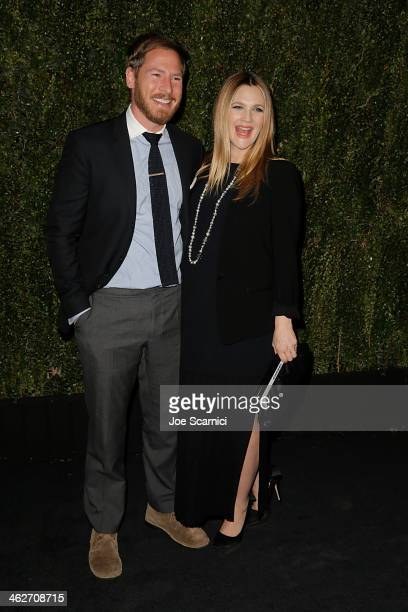 Actress Drew Barrymore and husband Will Kopelman attend the Chanel Dinner celebrating the release of Drew Barrymore's new book 'Find It In...