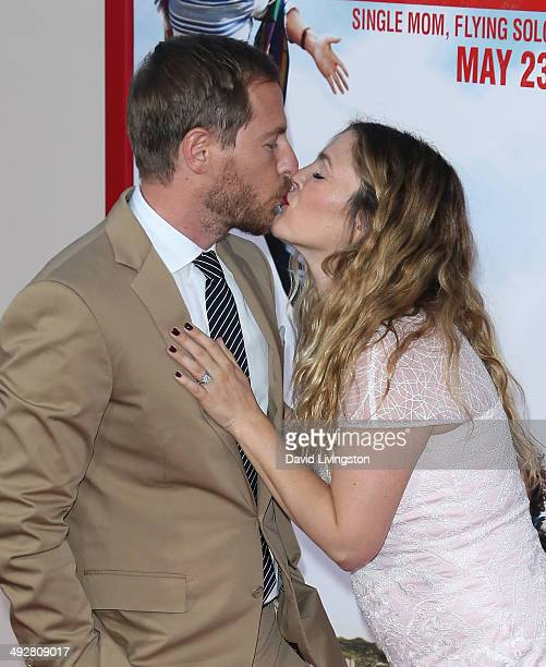 Actress Drew Barrymore and husband Will Kopelman attend the Los Angeles premiere of 'Blended' at the TCL Chinese Theatre on May 21 2014 in Hollywood...