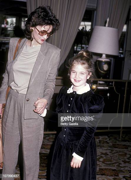 Actress Drew Barrymore and mother Jaid Barrymore attend the Young Musicians Foundation's Second Annual Celebrity Mother/Daughter Fashion Show on...