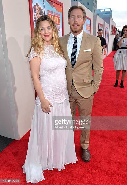 Actress Drew Barrymore and Will Kopelman attend the Los Angeles premiere of 'Blended' at TCL Chinese Theatre on May 21 2014 in Hollywood California