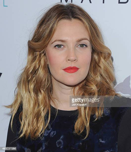 Actress Drew Barrymore arrives at The Daily Front Row's 1st Annual Fashion Los Angeles Awards at Sunset Tower Hotel on January 22 2015 in West...