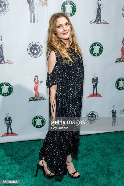 Actress Drew Barrymore attends the 2017 Turtle Ball at The Bowery Hotel on April 17 2017 in New York City
