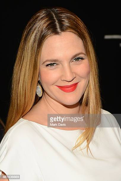 Actress Drew Barrymore attends The 40th Annual People's Choice Awards at Nokia Theatre LA Live on January 8 2014 in Los Angeles California