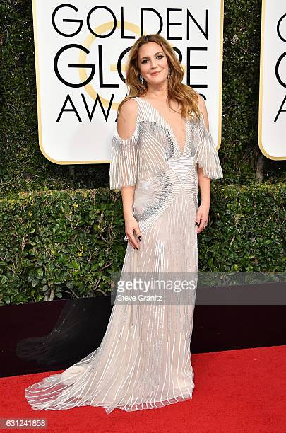 Actress Drew Barrymore attends the 74th Annual Golden Globe Awards at The Beverly Hilton Hotel on January 8 2017 in Beverly Hills California