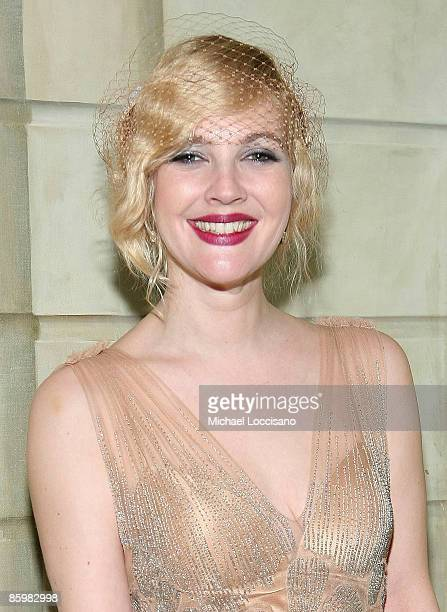 Actress Drew Barrymore attends the after party for HBO Films 'Grey Gardens'at the Pierre on April 14 2009 in New York City
