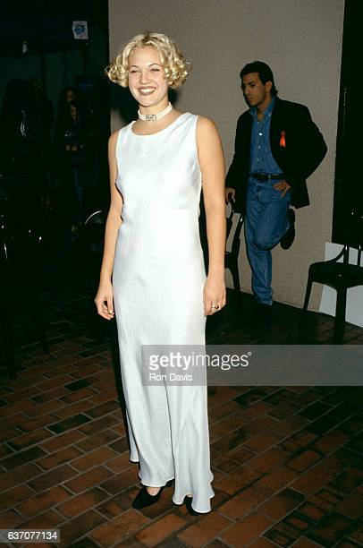 Actress Drew Barrymore attends the Fourth Annual Billboard Music Awards on December 8 1993 at the Universal Amphitheatre in Universal City California