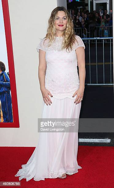Actress Drew Barrymore attends the Los Angeles premiere of 'Blended' at the TCL Chinese Theatre on May 21 2014 in Hollywood California