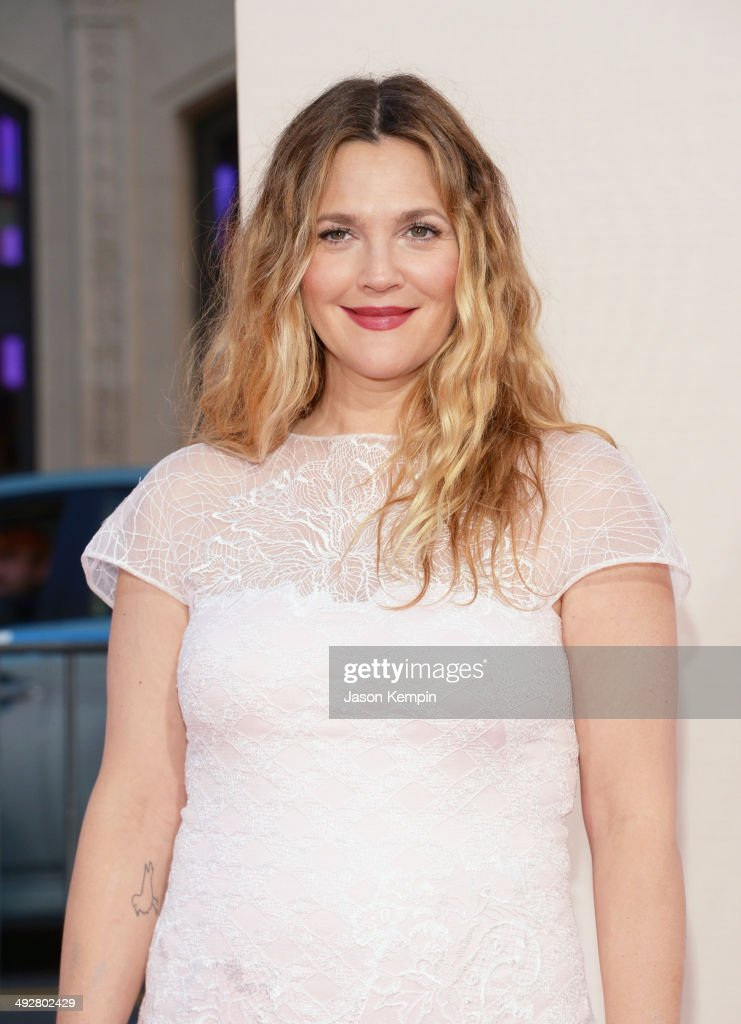 Actress Drew Barrymore attends the premiere of 'Blended' at TCL Chinese Theatre on May 21, 2014 in Hollywood, California.