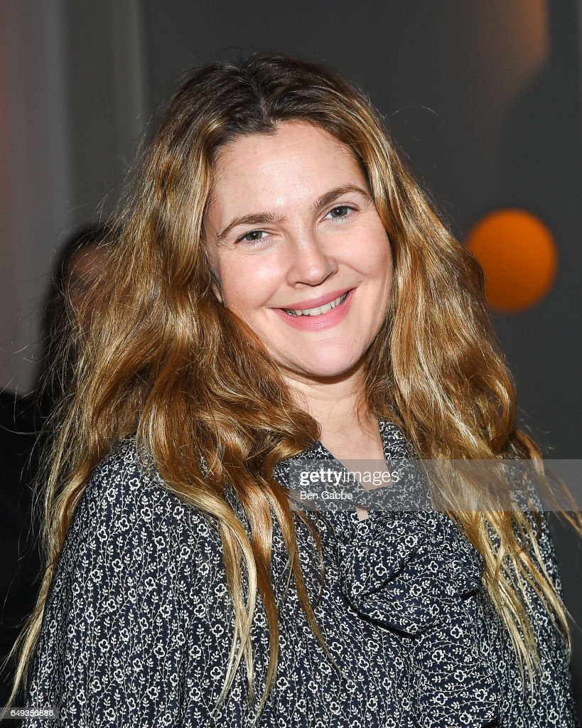 Actress Drew Barrymore attends The Society of MSK's 2017 Bunny Hop at 583 Park Avenue on March 7, 2017 in New York City.