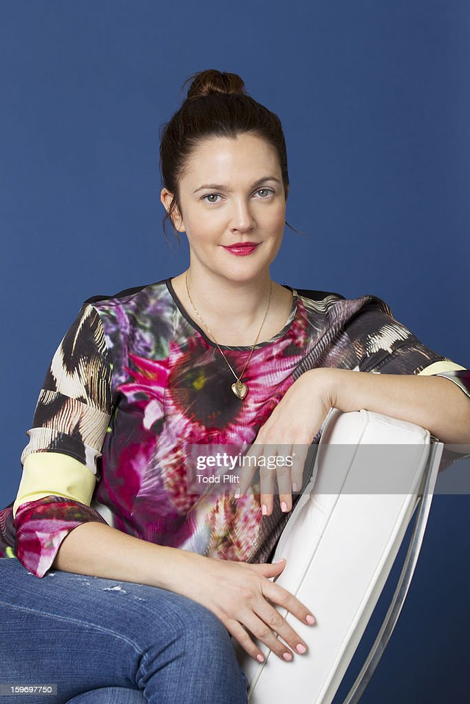Actress <a gi-track='captionPersonalityLinkClicked' href=/galleries/search?phrase=Drew+Barrymore&family=editorial&specificpeople=201623 ng-click='$event.stopPropagation()'>Drew Barrymore</a> is photographed for USA Today on January 14, 2013 in New York City.