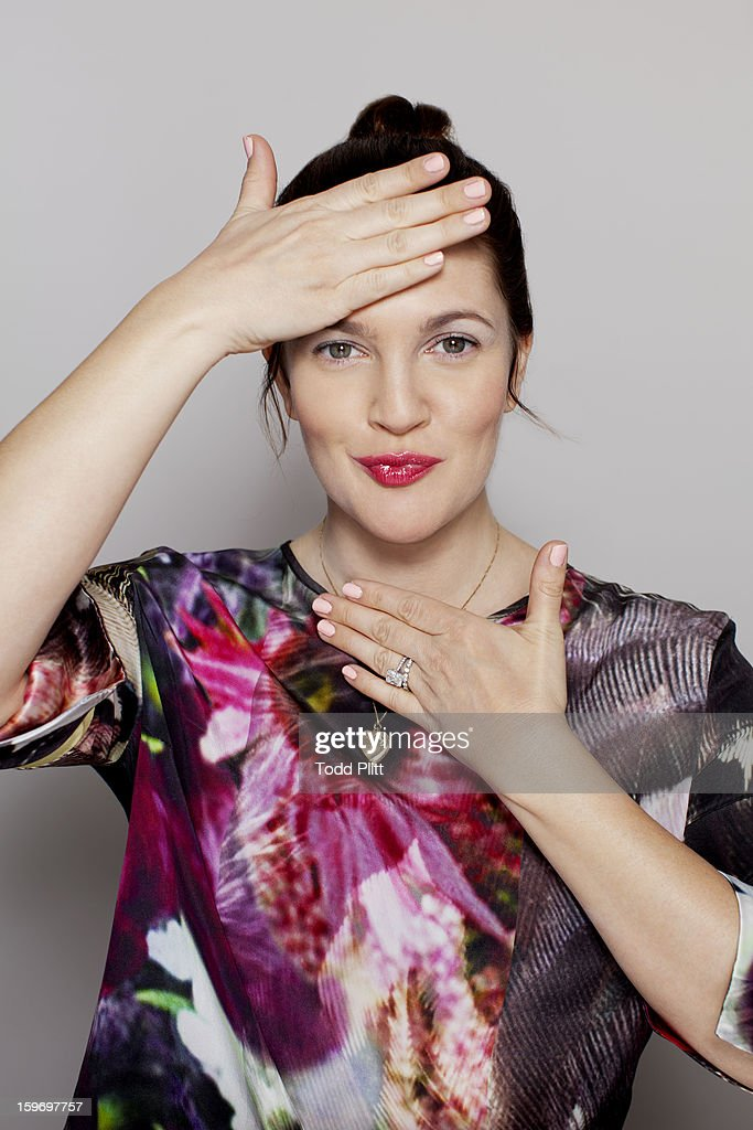 Actress <a gi-track='captionPersonalityLinkClicked' href=/galleries/search?phrase=Drew+Barrymore&family=editorial&specificpeople=201623 ng-click='$event.stopPropagation()'>Drew Barrymore</a> is photographed for USA Today on January 14, 2013 in New York City. PUBLISHED IMAGE.