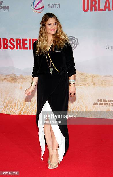 Actress Drew Berrymore attends the premiere of the film 'Blended' at CineStar on May 19 2014 in Berlin Germany