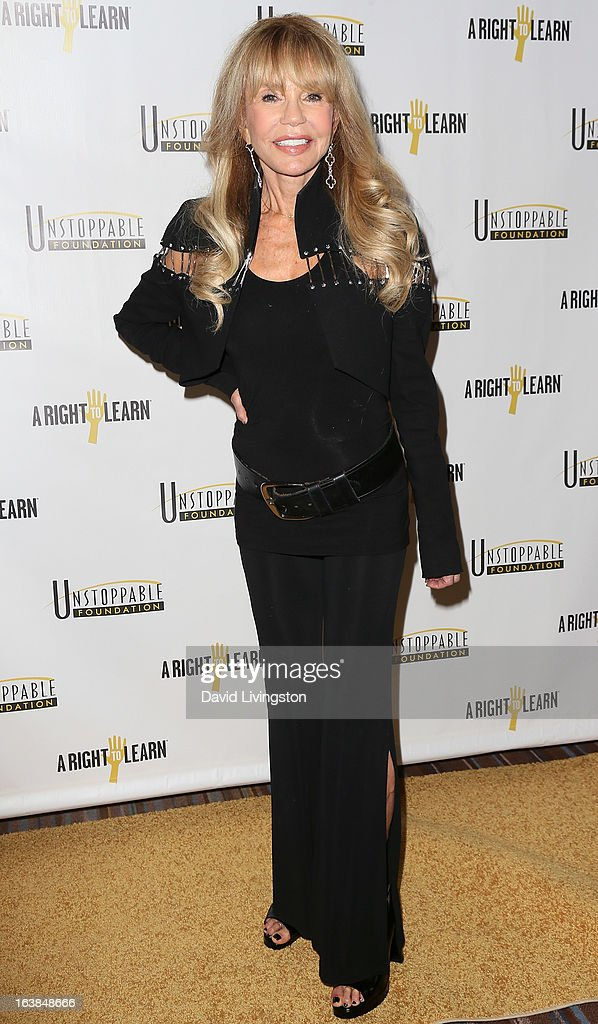 Actress Dyan Cannon attends the 4th Annual Unstoppable Gala at the Beverly Wilshire Four Seasons Hotel on March 16, 2013 in Beverly Hills, California.
