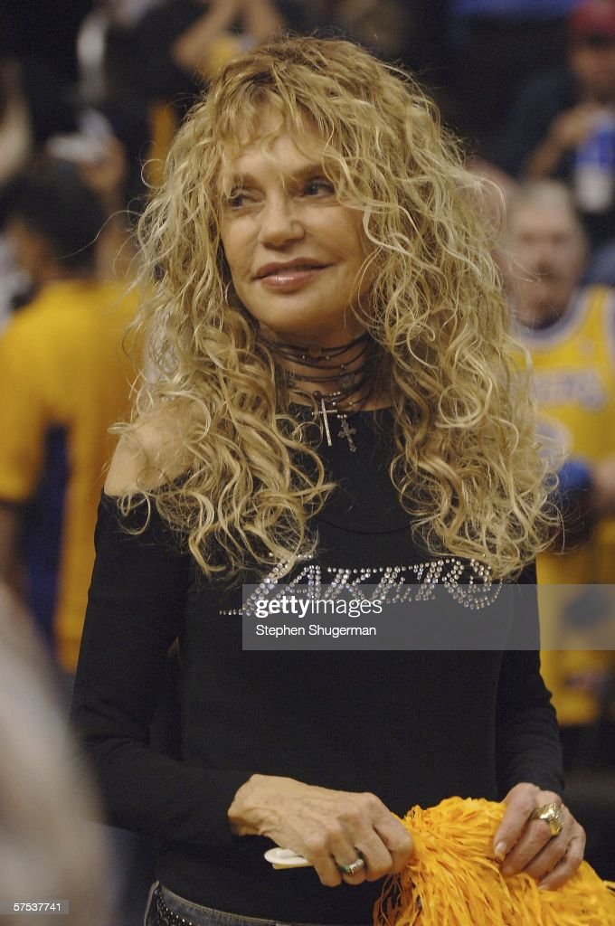 Image result for dyan cannon at the lakers games