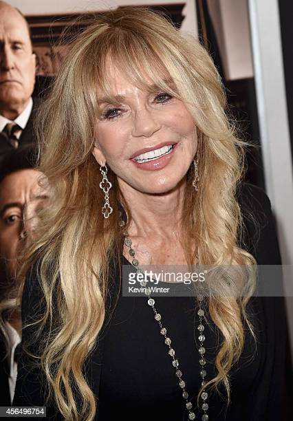 Actress Dyan Cannon attends the Premiere of Warner Bros Pictures and Village Roadshow Pictures' 'The Judge' at AMPAS Samuel Goldwyn Theater on...
