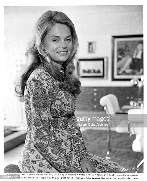 Actress Dyan Cannon on set of the movie 'Shamus' circa 1973