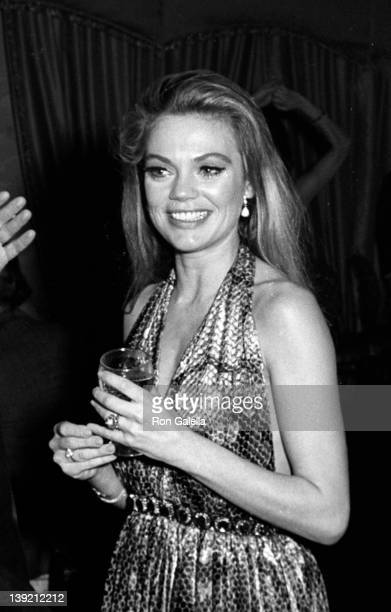Actress Dyan Cannon sighted on December 1 1967 at the Spindle Top Restaurant in New York City
