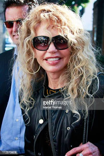 Actress Dyan Cannon sighting leaving the Ivy restaurant in Beverly Hills after lunch on February 25 2008 in Los Angeles California