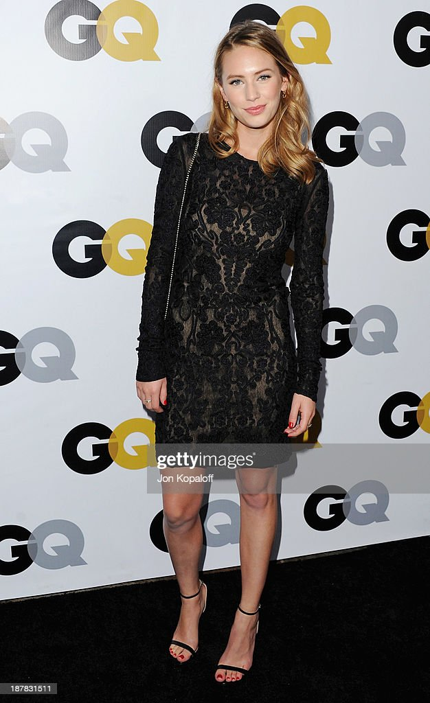 Actress Dylan Penn arrives at GQ Celebrates The 2013 'Men Of The Year' at The Wilshire Ebell Theatre on November 12, 2013 in Los Angeles, California.
