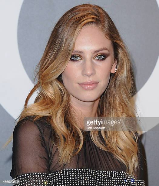 Actress Dylan Penn arrives at Tom Ford Autumn/Winter 2015 Womenswear Collection Presentation at Milk Studios on February 20 2015 in Los Angeles...