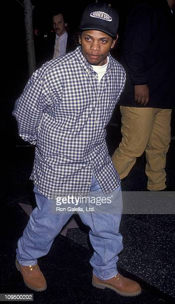 Actress EazyE attends the screening of 'CB4' on March 4 1993 at the Galaxy Theater in Hollywood California