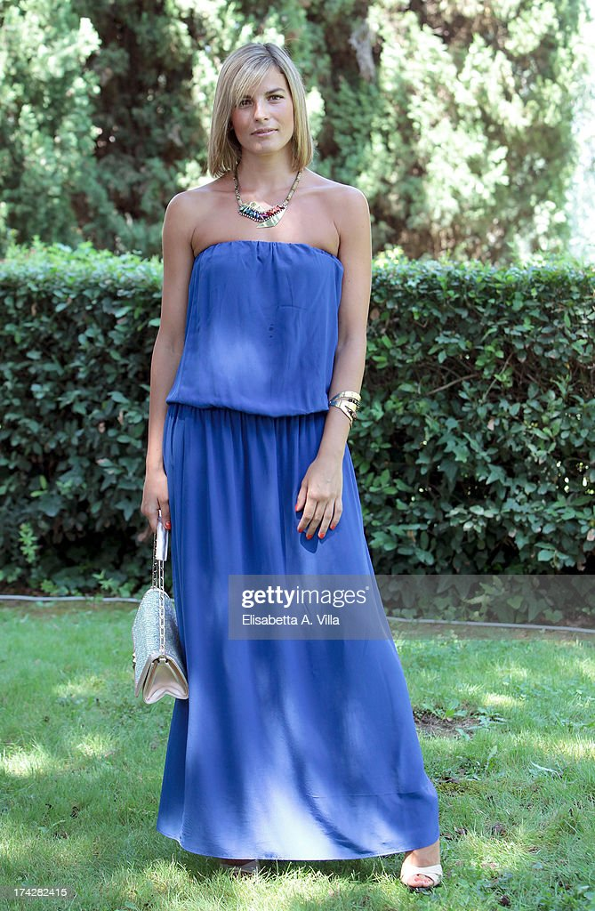 Actress Edelfa Chiara Masciotta attends 'La Tre Rose Di Eva 2' photocall at Mediaset Studios on July 23, 2013 in Rome, Italy.