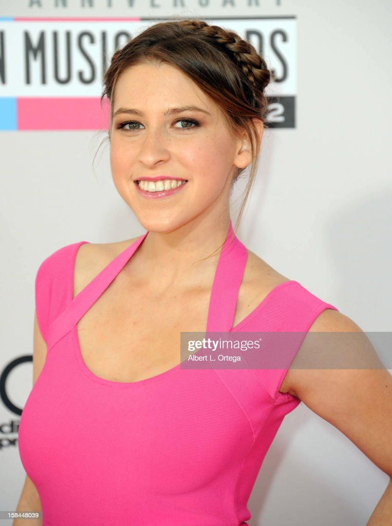Actress Eden Sher arrives for the 40th Anniversary American Music Awards - Arrivals held at Nokia Theater L.A. Live on November 18, 2012 in Los Angeles, California.