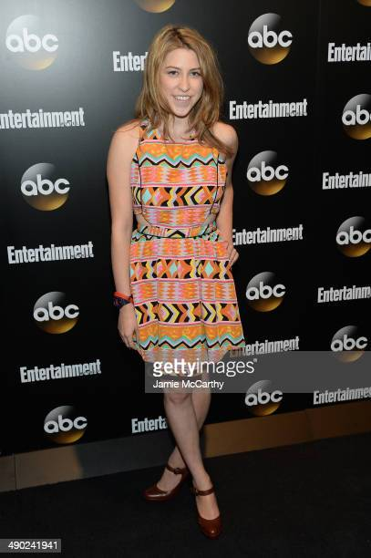 Actress Eden Sher attends the Entertainment Weekly ABC Upfronts Party at Toro on May 13 2014 in New York City