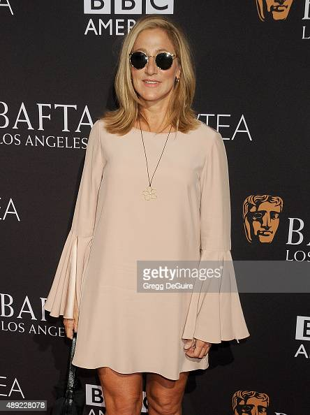 Actress Edie Falco arrives at the BAFTA Los Angeles TV Tea 2015 at SLS Hotel on September 19 2015 in Beverly Hills California