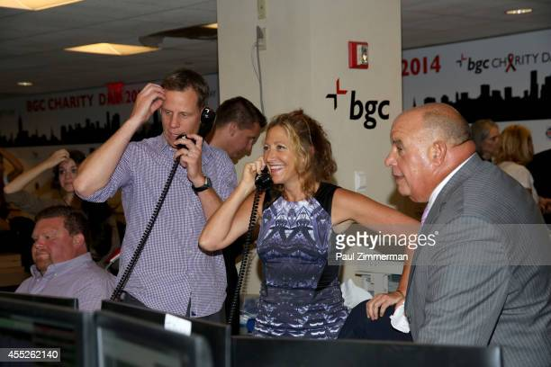 Actress Edie Falco attends Annual Charity Day Hosted By Cantor Fitzgerald And BGC at BGC Partners INC on September 11 2014 in New York City