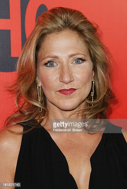 Actress Edie Falco attends Showtime 2013 EMMY Eve Soiree at the Sunset Tower Hotel on September 21 2013 in West Hollywood California