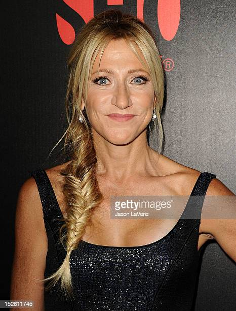 Actress Edie Falco attends Showtime Network's 'Emmy Eve' Soiree at Sunset Tower on September 22 2012 in West Hollywood California