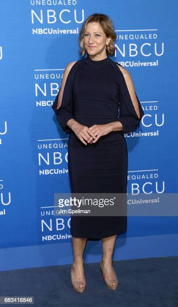 Actress Edie Falco attends the 2017 NBCUniversal Upfront at Radio City Music Hall on May 15 2017 in New York City