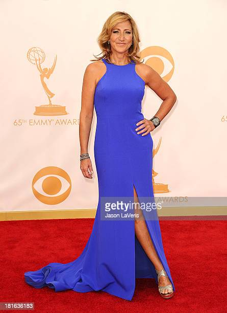 Actress Edie Falco attends the 65th annual Primetime Emmy Awards at Nokia Theatre LA Live on September 22 2013 in Los Angeles California