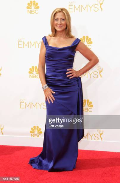 Actress Edie Falco attends the 66th Annual Primetime Emmy Awards held at Nokia Theatre LA Live on August 25 2014 in Los Angeles California
