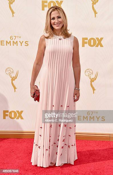 Actress Edie Falco attends the 67th Emmy Awards at Microsoft Theater on September 20 2015 in Los Angeles California 25720_001