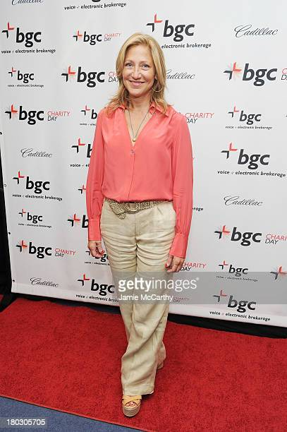 Actress Edie Falco attends the annual charity day hosted by Cantor Fitzgerald and BGC at the BGC office on September 11 2013 in New York City