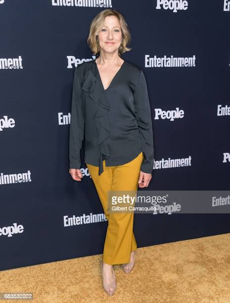 Actress Edie Falco attends the Entertainment Weekly People New York Upfronts at 849 6th Ave on May 15 2017 in New York City