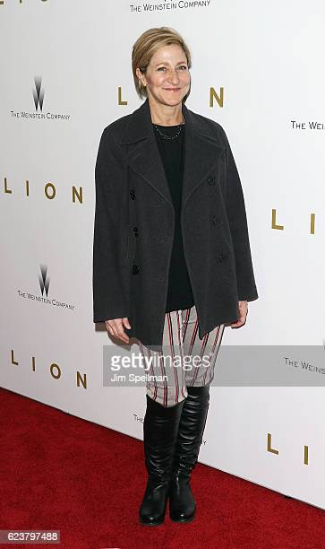 Actress Edie Falco attends the 'Lion' New York premiere at Museum of Modern Art on November 16 2016 in New York City